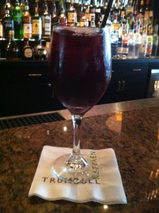 Kegged Sangria at TK