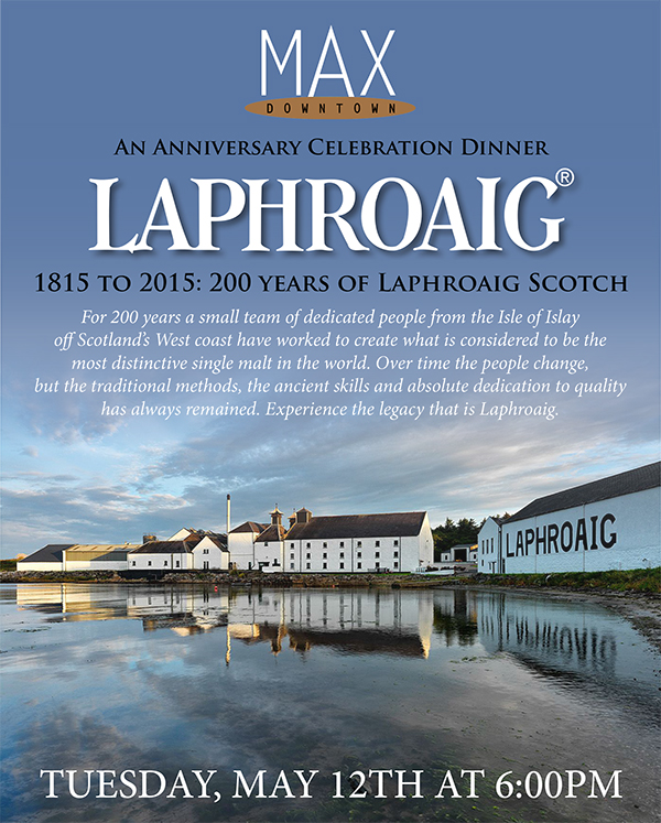 1815 to 2015: Celebrating 200 years of Laphroaig Whisky |