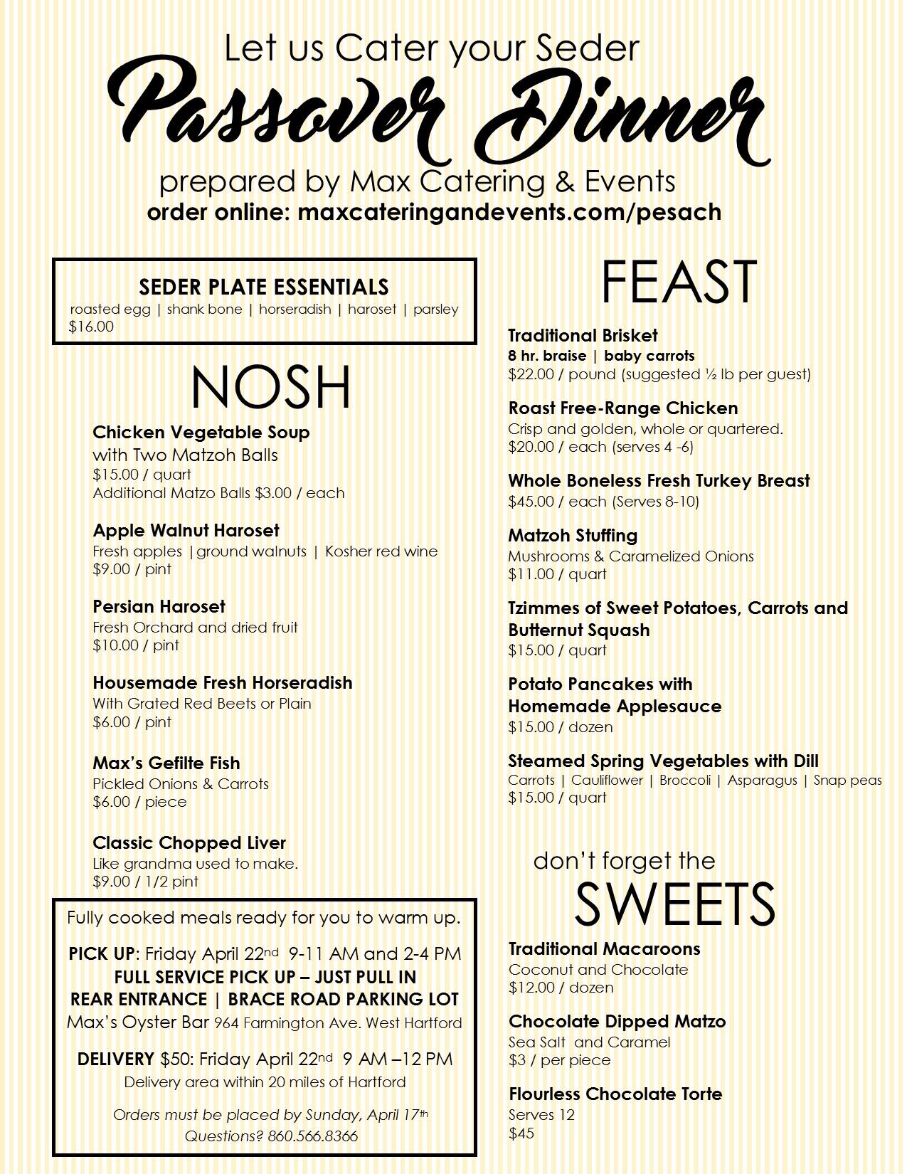 Passover MENU 2016-FINAL