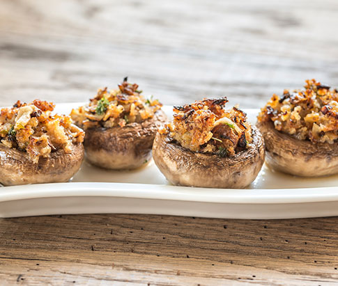 Home / Turkey Enhancements / Sausage & Spinach Stuffed Mushrooms ...